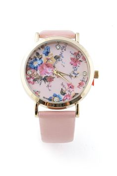Rhinestone Blossom Watch - Trendy Watches at Pinkice.com