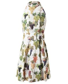 Grape Printed Dress by KENZO at Brown's Fashion for £575.00£405.00