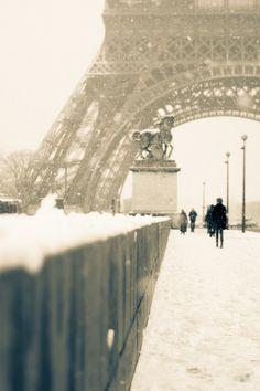 Paris in the Winter.