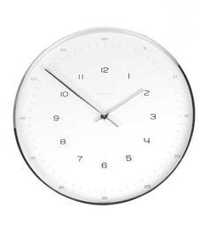 Max Bill Wall Clock  (perfect replacement for mom's kitchen - too bad it's $450)