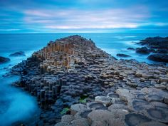 Causeway Coastal Route, Northern Ireland That thing we said about giants? It actually applies here: Legend has it the Giant's Causeway (pictured), with its thousands of hexagonal basalt columns rising from the sea, was the remains of an actual causeway built by giants. Not the byproduct of a volcanic eruption, nah.