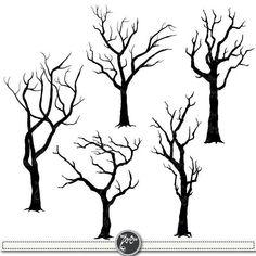 Tattoo Tree Silhouette Clip Art Ideas For 2019 Bird Silhouette Art, Tree Silhouette Tattoo, Spooky Trees, Forest Illustration, Bird Tree, Bird Branch, Tree Forest, Forest Art, Plantation