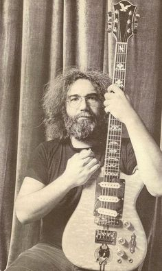 Jerry Garcia...we miss you and your music! #Icon #MusicLegend