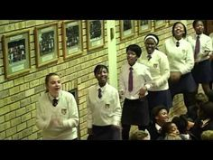 FLASH MOB Assembly Port Alfred High School South Africa #Africa #FlashMob #Flash #Mob South Africa, High School, African, In This Moment, Random, Grammar School, High Schools, Secondary School, Casual