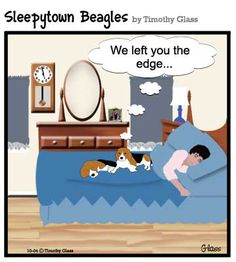 Sleepytown beagles Cartoon