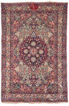 4×6 Persian Kerman Rug