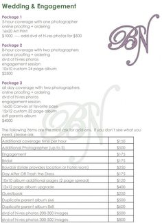 Wedding Photography Checklist Template & Atlanta wedding photographer price list wedding album prices Wedding Photography Checklist Template & Atlanta wedding photographer price list wedding album prices The post Wedding Photography Checklist Template Wedding Photography Shot List, Wedding Photographer Prices, Photography Price List, Photography Contract, Wedding Photography Checklist, Wedding Photography Packages, Photography Marketing, Photography Packaging, Photography Business