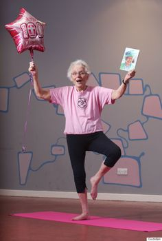 100-Year-Old Yogi Says Three Decades Of Practising Yoga Has Changed Her Life