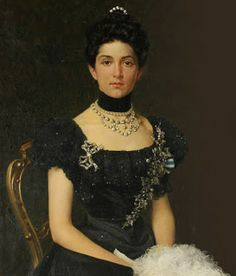Queen Elena of Italy, born Princess Elena of Montenegro.  She might have been the bride of Nicholas II but for a nasty incident at a ball.