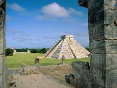 Ancient Mayan Ruins of Chichen Itza, Mexico