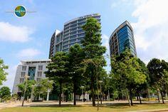 Wisma Tani is a complex of buildings in Putrajaya, Malaysia Putrajaya, Travel Tips, Buildings, Multi Story Building, Asia, Travel Advice, Travel Hacks