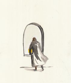 Yellow.  Oscar Wilde was arrested outside the Cadogan Hotel in London in April 1895. The following day the Westminster Gazette ran the… Daily Drawing, Oscar Wilde, Westminster, The Outsiders, London, Yellow, Drawings, Day, Painting
