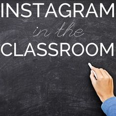 Tons of ideas for using Instagram in the classroom!