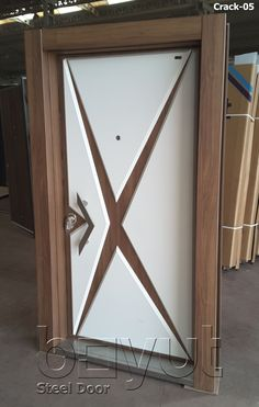 "*Model ""Crack-05"" *Steel Security Door, *Entrance Door"