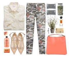 """*1954"" by cutekawaiiandgoodlooking ❤ liked on Polyvore featuring Allstate Floral, Gant Rugger, True Religion, Valentino, 3.1 Phillip Lim, philosophy, Triumph & Disaster, Dermalogica, Hermès and Vintage"