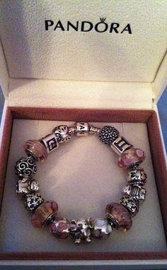Complete PANDORA bracelet
