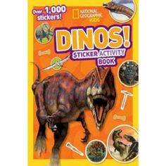 Dinos ( Ng Sticker Activity Books) (Paperback) by National Geographic Society (U.S.)