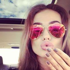 Aliexpress.com: Compre Piloto óculos de Sol UV400 Homens Mulheres Clássico Marca Designer Oval Espelho Óculos de Sol Masculinos do Sexo Feminino Barato Pontos Contra Raios de confiança espelho relógio fornecedores em Victory Store For You