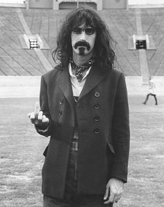 I never got into his music, but his attitude was ultra-cool. Frank Zappa, Rock N Roll, Frank Vincent, Flipping, Ikon, Are You The One, Celebs, Actors, History