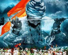 One thousand years of slavery. Millennia of defeat and domination caused by a dogmatic adherence to the doctrine of ahimsa, preventing an effective resistance to foreign domination. This is what mo… Black Background Images, Background Images Wallpapers, Cute Wallpapers, Warriors Wallpaper, Shiva Wallpaper, Shivaji Maharaj Painting, Ancient Indian History, Mahadev Hd Wallpaper, Shivaji Maharaj Hd Wallpaper
