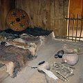 Sleeping Area in Replica Viking Houses