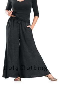 Shop Andrea Butter Soft Rayon Boho WideLeg Drawstring Palazzo Pants in Black Midnight: http://holyclothing.com/index.php/pants/andrea-butter-soft-rayon-boho-wideleg-drawstring-palazzo-pants.html. Repins are always appreciated :) #HolyClothing #fashion #Butter #Soft #Rayon #Boho #WideLeg #Drawstring #Palazzo #Pants