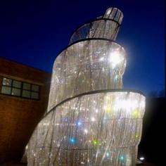 Fountain of light van Ai Wei Wei @depont Tilburg