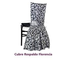 Crubre Sillas y Capelos - Cubre Respaldo Florencia Accent Chairs, Furniture, Home Decor, Covering Chairs, Decorated Chairs, Chair Covers, Fiestas, Cover, Florence