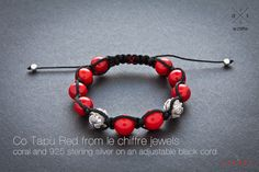 """Co Tapu Red stones: coral 10 mm 925 sterling silver 10 mm Recommended price: 180,00 euros  Co Tapu - cliff in the Thailand. It's famous cliff from James Bond movie The Man With """"The Golden Gun"""". Co Tapu is Thailand sight and it has been protected by government since 1981."""