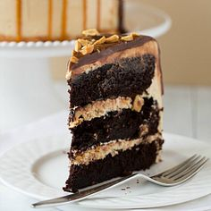 Snickers Cake Recipe | Brown Eyed Baker