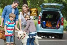 Traveling with family/friends this labor day weekend? You can  Earn While You Travel by using ZALDEE App. It's simple as 1,2,3 1) List your Journey 2) Accept the request from a sender 3) Deliver the package and Make money ❤️ Download ZALDEE app. It's FREE  Zaldee® - earn while you travel®, is the coolest way to earn money from excess baggage space available with you while traveling anywhere.  ✈️ #ZALDEE #EarnWhileYouTravel #laborday #laborday2015 #labordayweekend #travel #journey #shipping