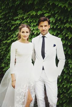 Olivia Palermo  Johannes Huebl by {this is glamorous}, via Flickr