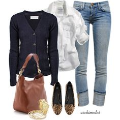 """Campus Style"" by archimedes16 on Polyvore"