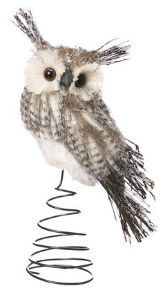 Bristle Owl Tree Topper                                                                                                                                                                                 More