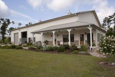 steel building with office attached breezeway - Google Search