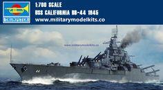 USS California BB-44 1945 Trumpeter 05784