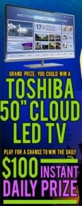 """Toshiba """"Find Jack"""" Halloween Instant Win Game & Sweepstakes"""
