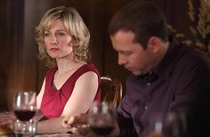 """Amy Carlson stars as Linda Reagan on Blue Bloods from the episode """"All That Glit. Amy Carlson, Donnie Wahlberg, Blue Bloods, Girly Things, Girly Stuff, Best Couple, Hair Dos, Picture Photo, Her Hair"""