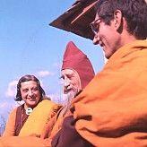 Happy Birthday, Urgyen Sangharakshita! With Lama Govinda and Li Gotami...