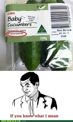 Cucumbers are Entertaining