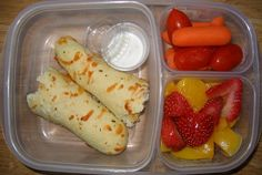 lots of lunch ideas I could use over the summer- pack them at night- be ready the next day.