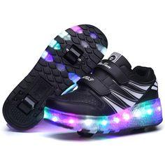 Kids Girls Shoes Children Wheely's Roller Shoes Kids Sneakers with Wheels Boys LED Light Up Shoes zapatillas deportivas hombre Sneakers Mode, Girls Sneakers, Girls Shoes, Sneakers Fashion, Shoes Sneakers, Light Up Roller Skates, Roller Skate Shoes, Light Up Shoes, Lit Shoes