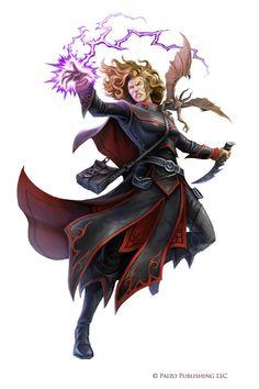Pathfinder: Tiarise Izoni by WillOBrien.deviantart.com on @DeviantArt