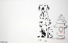Dalmatian Painting - Dalmatian Fine Art Print