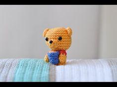 Amigurumi | Como hacer un Winnie the Pooh | Crochet 2016 - YouTube