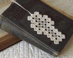 Hardanger Cross Bookmark