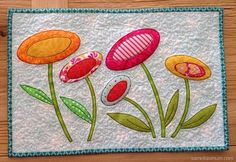 Bloom Mini Quilt #Aurifil #SameliasMum #Quilting