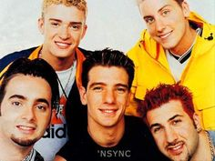 I love(d) NSYNC...oh the look of them when they were boys!!!