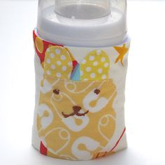 Baby Feeding Bottle Wrap/Cover/Avent 4 Ounce by tinytweets on Etsy, $10.00