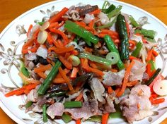 ごま油で炒めて味付けは味ぽんのみw - 9件のもぐもぐ - 本日のおつまみおかず♪豚肉と山菜水煮の炒め物 by ALARE